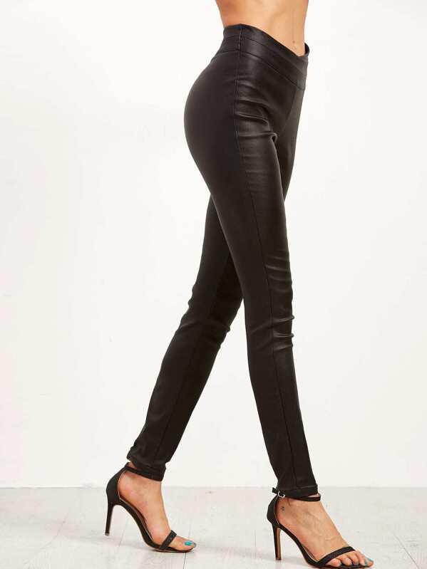 f04a1d0c44 Cheap Black Faux Leather Skinny Pants for sale Australia | SHEIN