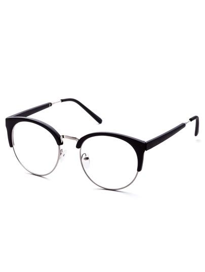 ea6bac8f598 Cheap Black Open Frame Round Clear Lens Glasses for sale Australia ...