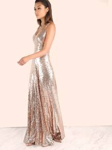 5346eece689 Cheap Backless Sequin Cami Maxi Prom Dress for sale Australia