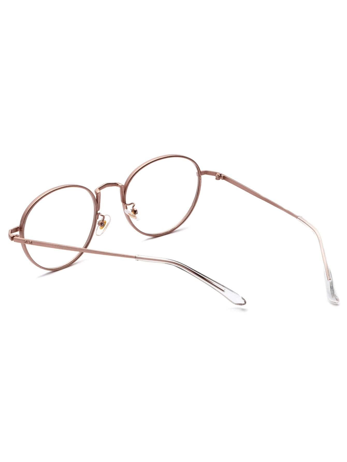 rose gold delicate frame clear lens glasses sunglass161011308_1 sunglass161011308_1 sunglass161011308_2 sunglass161011308_2 sunglass161011308_2