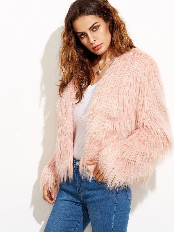 17b39f58d138 Faux Fur Coat