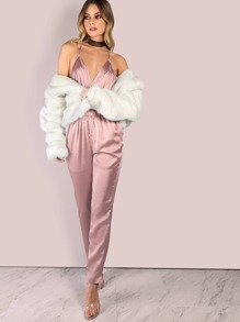 71ee374ce295 ... Satin Jumpsuit DUSTY PINK. AddThis Sharing Buttons