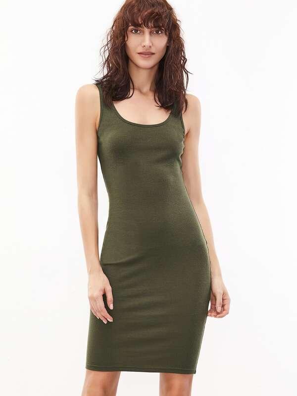 Robe de soiree couleur vert olive