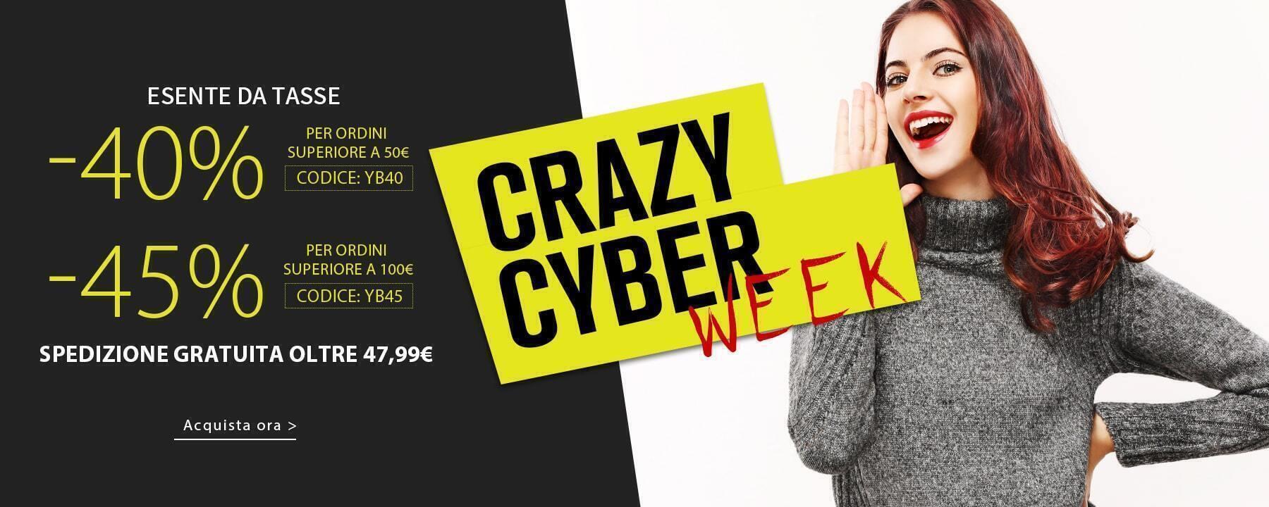 CRAZY CYBER WEEK