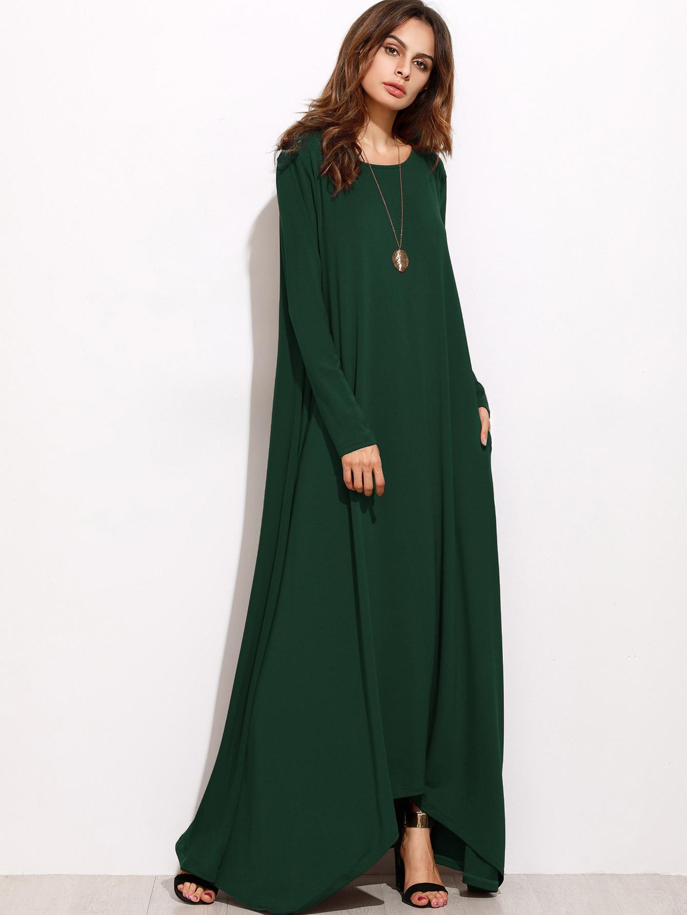f60df6ccc5 Maxi Tent Dress | SHEIN