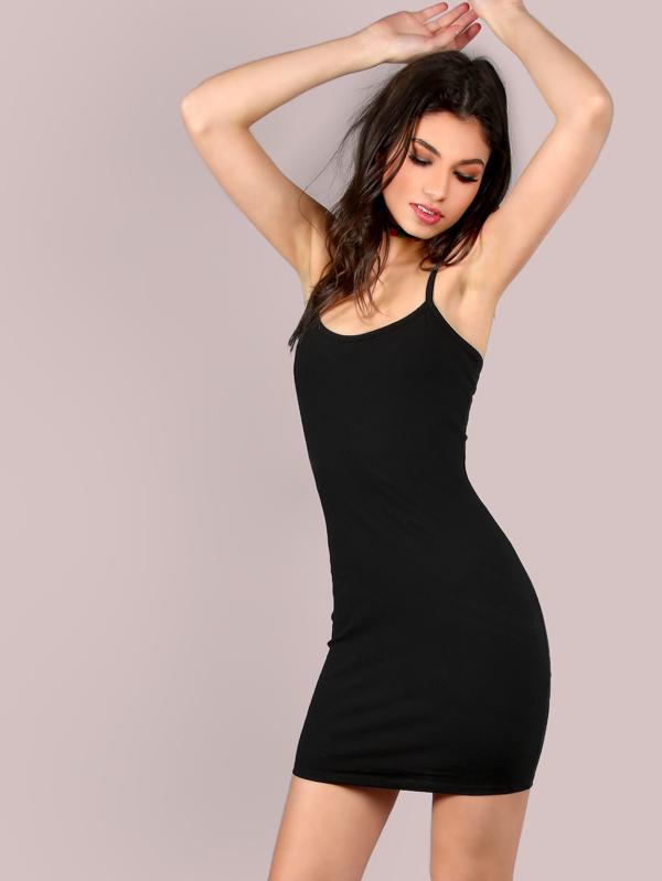 Minikleid schwarz eng