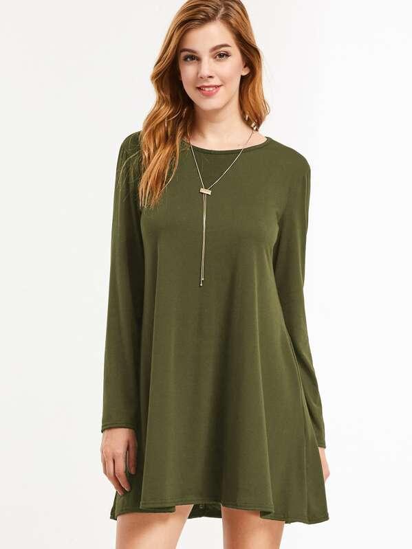 Imagenes de vestidos verde militar