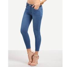 Pocket Stretchy Jeans pant160602530