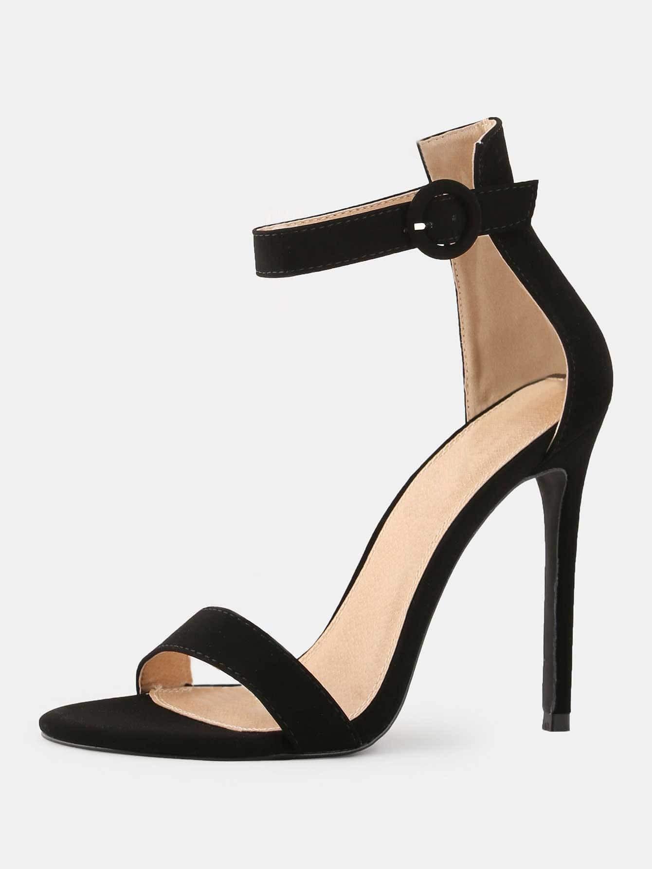 2672d3f091 FINEJO Women's High Heel Fashion Sandals Peep Toe Pumps For Wedding Party  Dress Stiletto Black 39