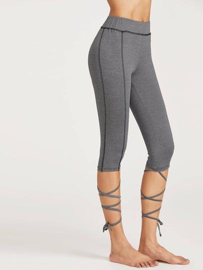 Серые брюки спортивные