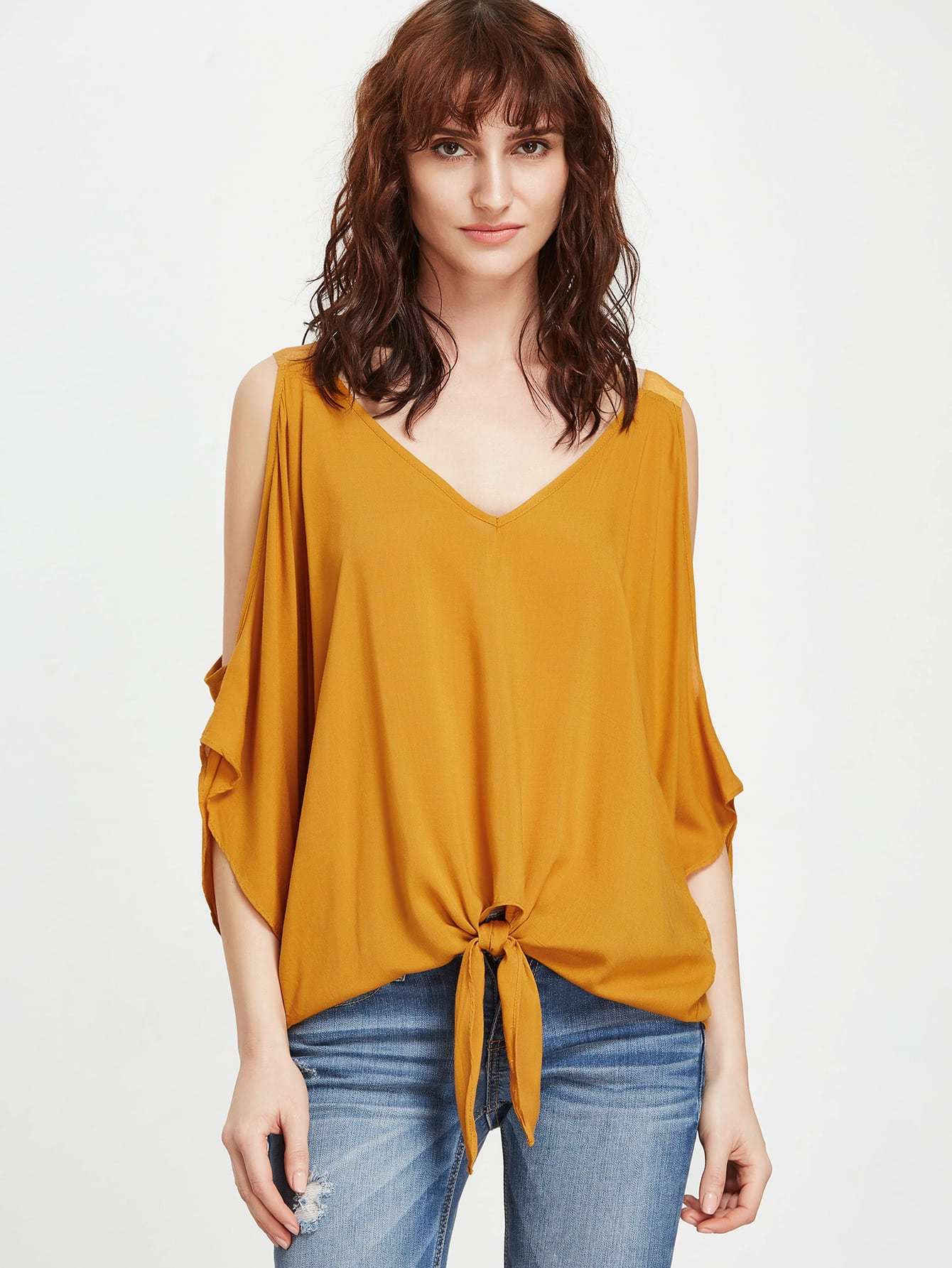 Knot Front Blouse 25