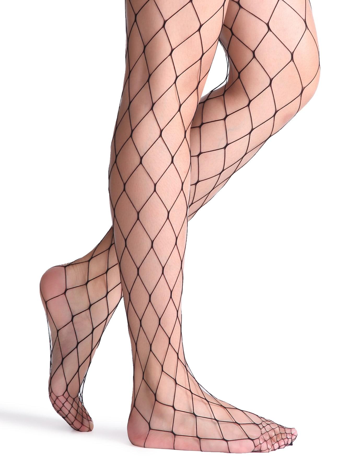 Black Sexy Fishnet Stockings