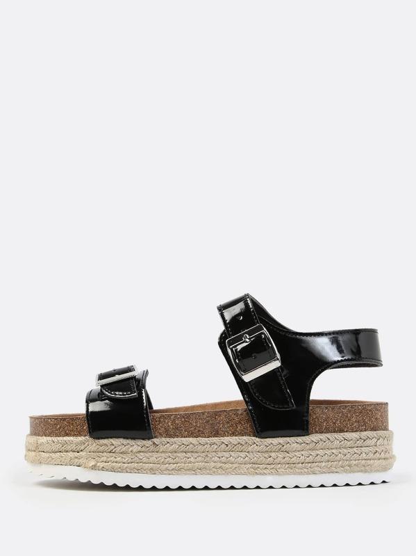 d8c0e45b177 Cheap Chunky Flatform Sandals BLACK for sale Australia