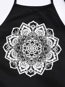 38bdb93e90ceea Cheap Mandala Print Halter Neck Top for sale Australia