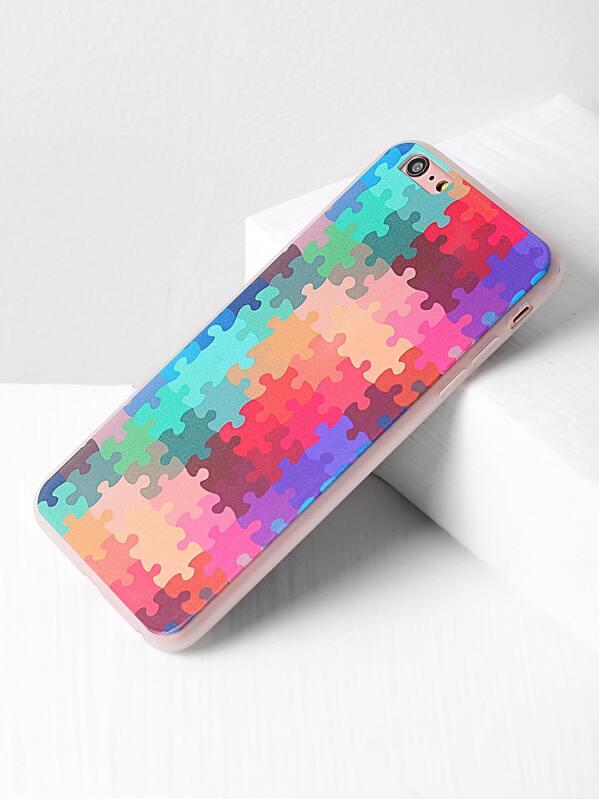 92cc7365a7 Cheap Multicolor Puzzle Print iPhone 6 Plus /6s Plus Case for sale  Australia | SHEIN