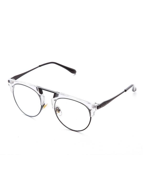 5b5aca1117 Cheap Clear Frame Clear Lens Retro Style Glasses for sale Australia | SHEIN