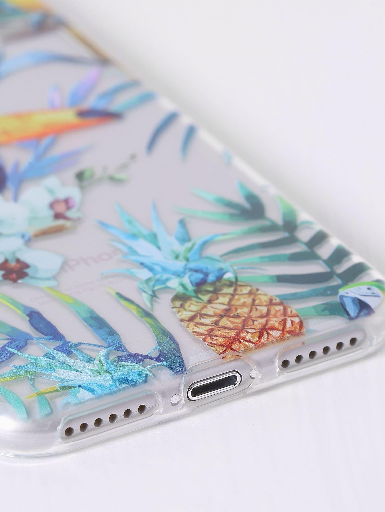 77a9e54e7c Toucan Tropical Print iPhone 7 Case | SHEIN UK