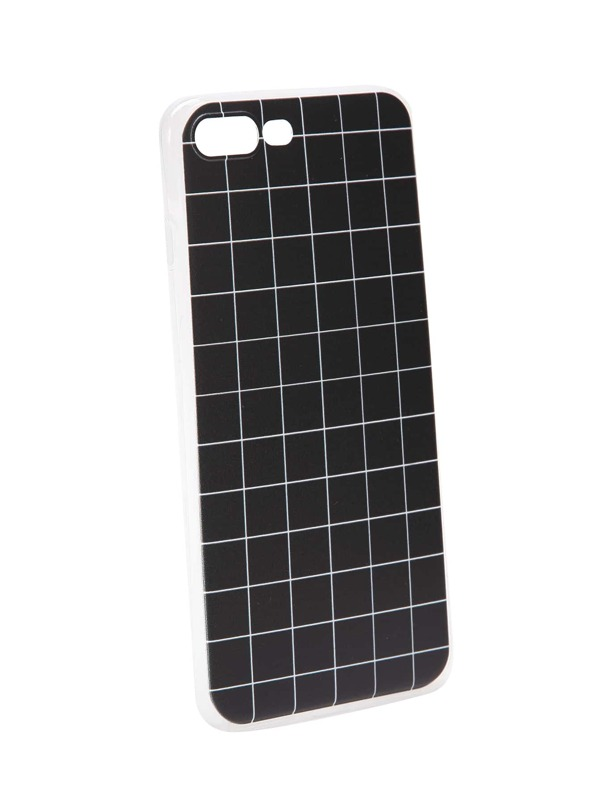 9dd4b64735 Grid Pattern iPhone 7 Plus Case | SHEIN