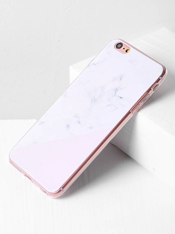 4161cc3c02 Cheap Marble Print Minimalist iPhone 6 Plus/6s Plus Case for sale Australia  | SHEIN