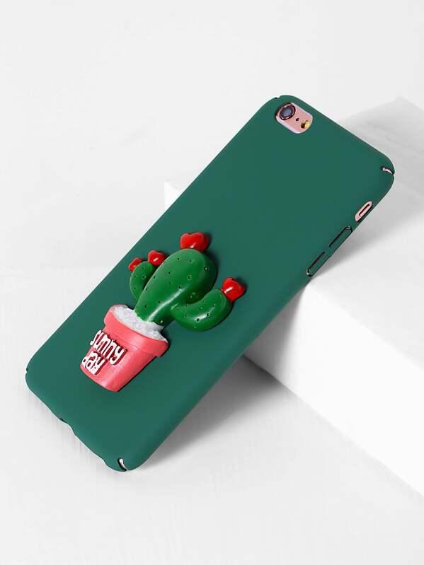 9a509c8bad Cactus Design iPhone 6 Plus/6s Plus Case | SHEIN