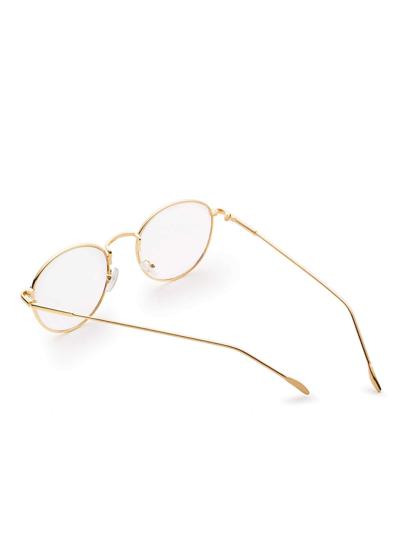 gold frame clear lens glasses sunglass170308303_1 sunglass170308303_1 sunglass170308303_2 sunglass170308303_2 sunglass170308303_2