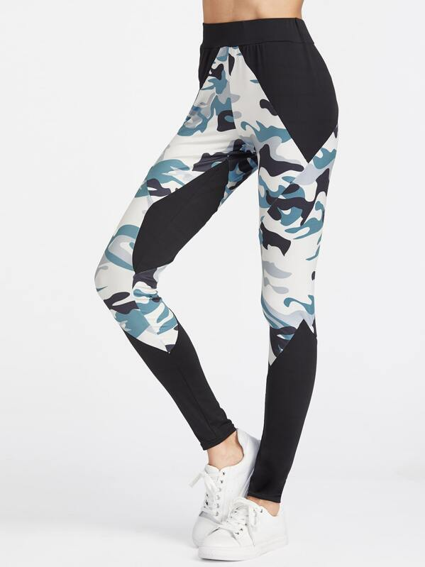 c7b92d5d3fd80 Active Camouflage Print Leggings | SHEIN IN