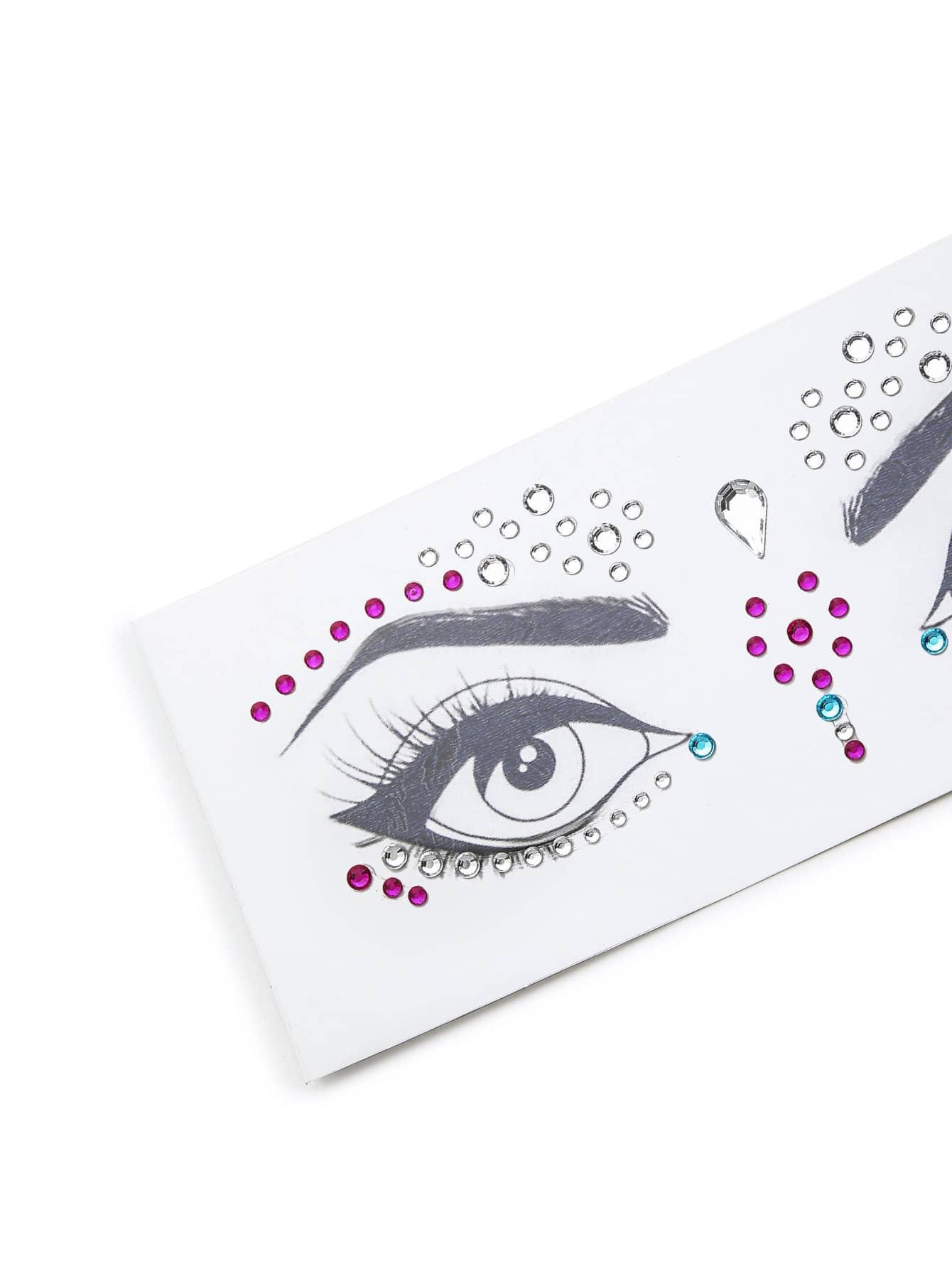 Makeup Eye Rhinestone Sticker