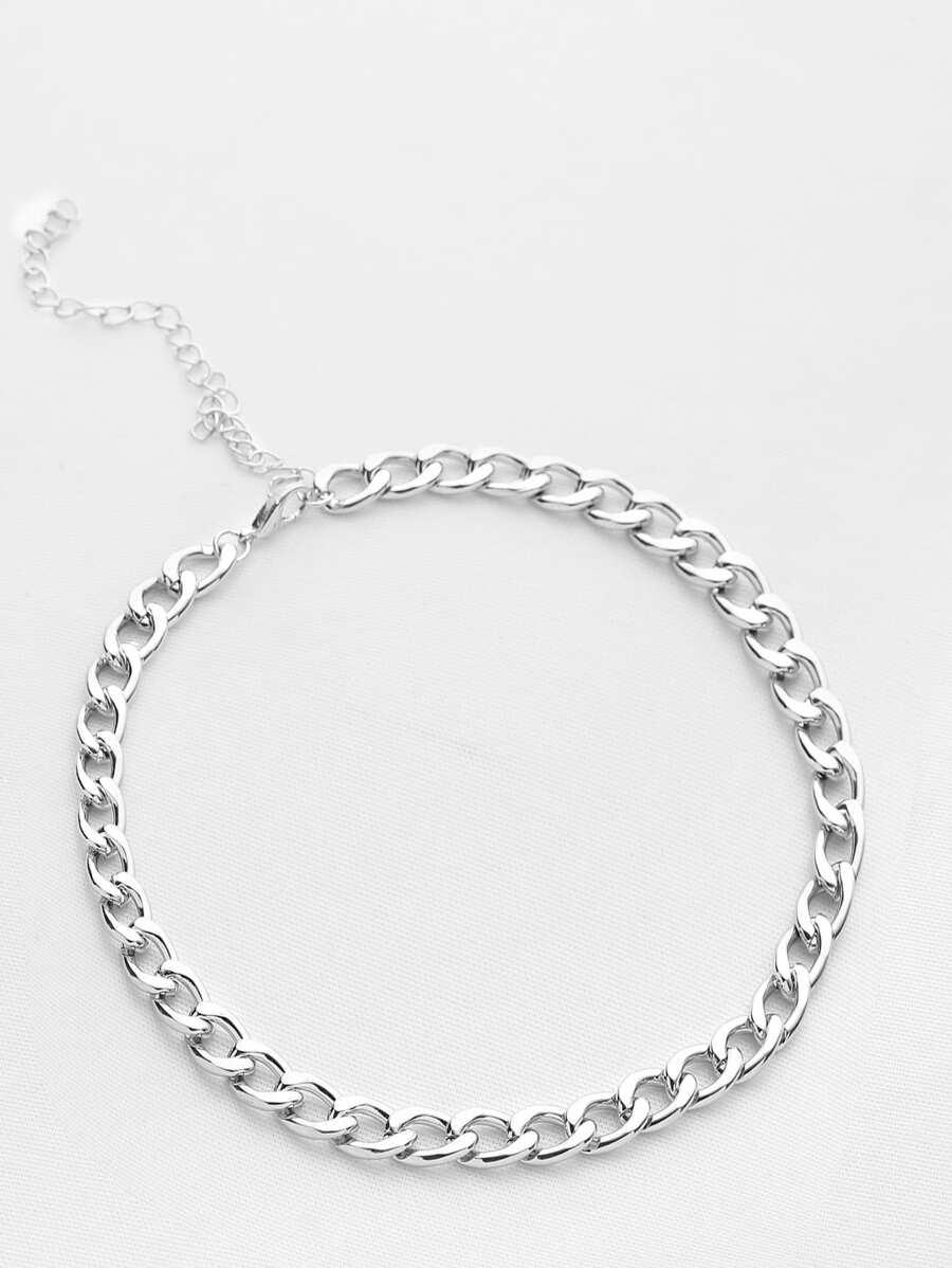 f116b5c3f2 Chain Choker Necklace | SHEIN