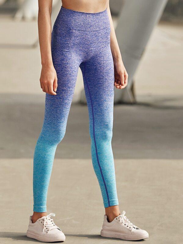 0c6b2da0ccb9b Active Ombre Seamless Gym Leggings   SHEIN