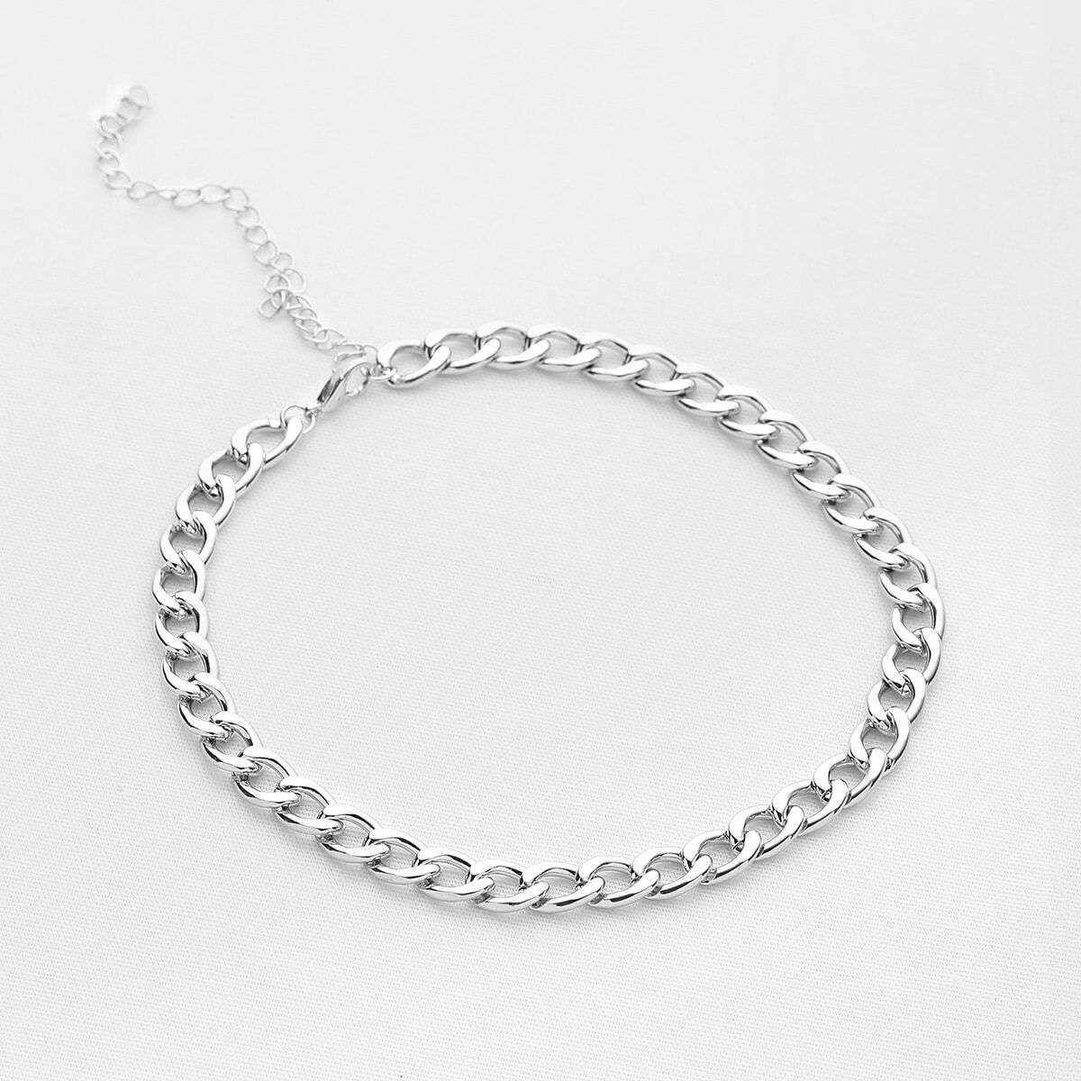- Chain Choker Necklace