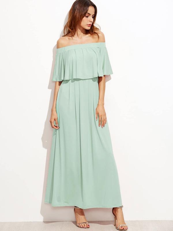 Kleid mit Doppelhals- German SheIn(Sheinside)