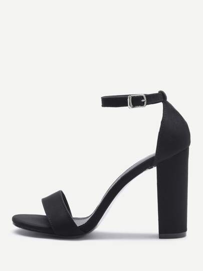 1d61b2d624a09 Two Part Block Heeled Sandals