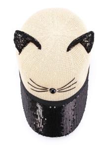 444a31eddb Lace Cat Ear Design Baseball Cap | SHEIN