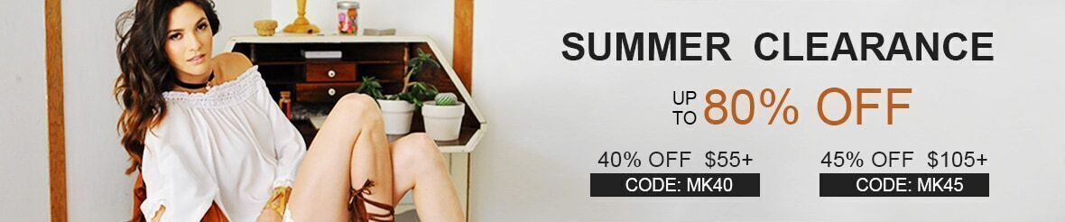 Summer Sale-Up to 80% off