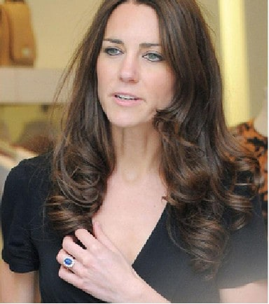 Kate Middleton's Royal Wedding Ring