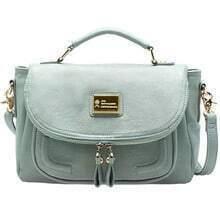 Blue Vintage Cross Body Bag