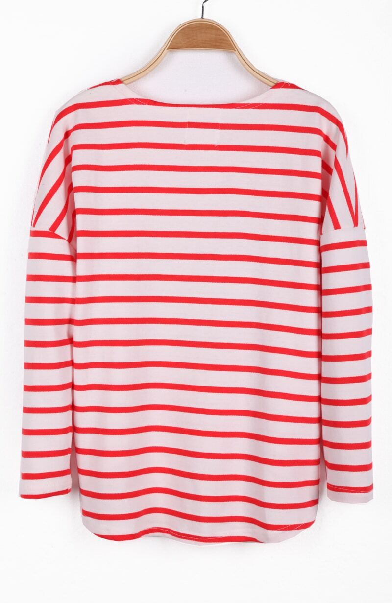WHITE LONG SLEEVE STRIPE SHIRT Red and white stripe shirt is a medium ASHERANGEL Unisex Kids Classic Striped T-Shirt Girls Boys Crewneck Jersey Tee. by Asherangel. $ - $ $ 5 $ 11 41 Prime. Some sizes/colors are Prime eligible. out of 5 stars