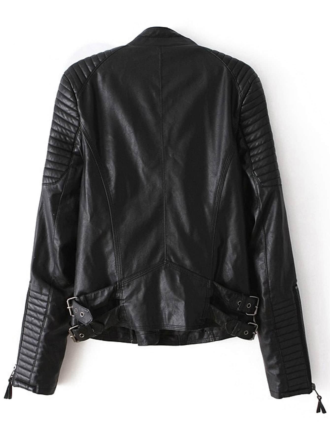 Leather Zipper Jacket