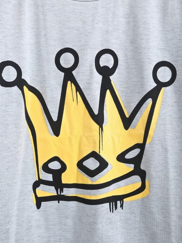 estampada imperial Camiseta Camiseta corona corona Camiseta imperial estampada estampada imperial Camiseta corona estampada corona nw8X0OkP