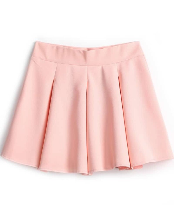 13782ffdd8 Pink Simple Design Pleated Skirt. AddThis Sharing Buttons