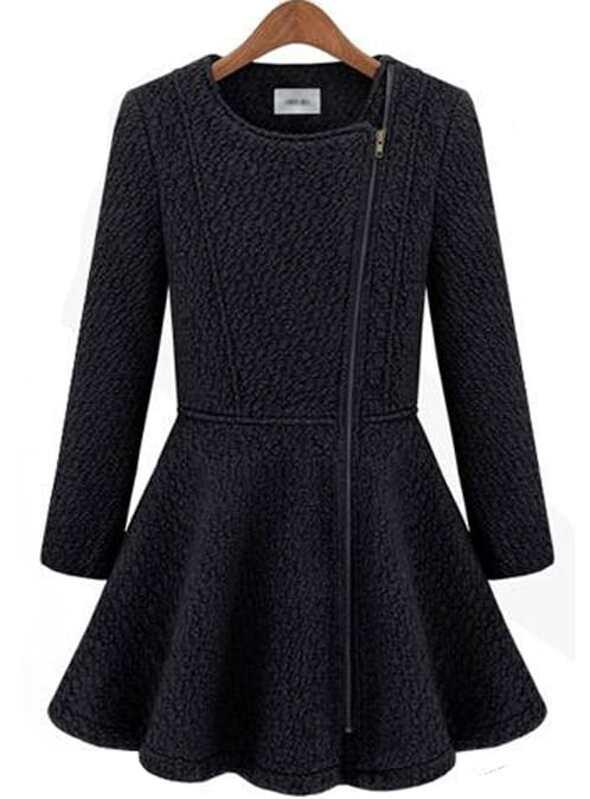 cappotto nero shein
