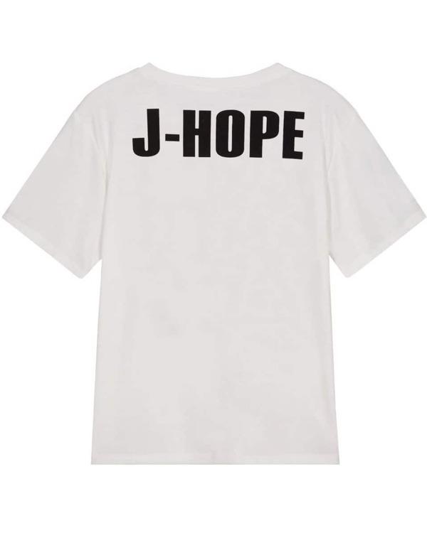 fa53302cad Cheap White Short Sleeve BTS Print T-Shirt for sale Australia | SHEIN