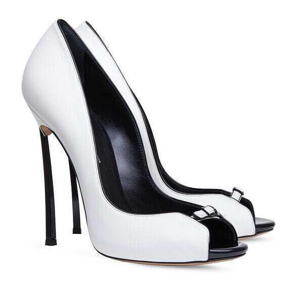 high heels offen mit schnalle wei german shein sheinside. Black Bedroom Furniture Sets. Home Design Ideas