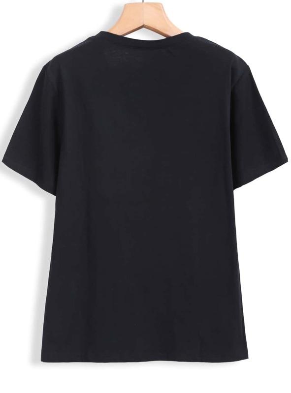 431fa62df0dd Cheap Black Short Sleeve Supreme Simpson Print T-Shirt for sale Australia |  SHEIN