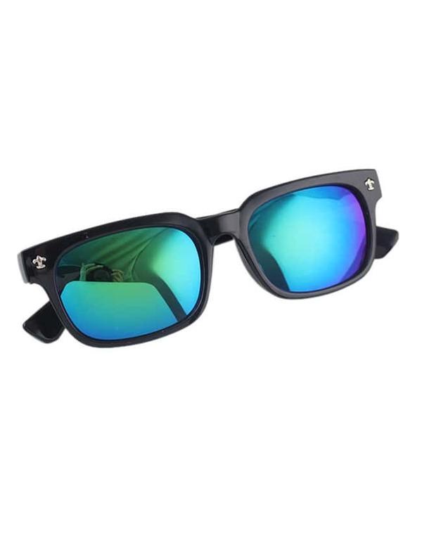 lunettes de soleil large UV 400 -vert -French SheIn(Sheinside) 3ee2e48af852