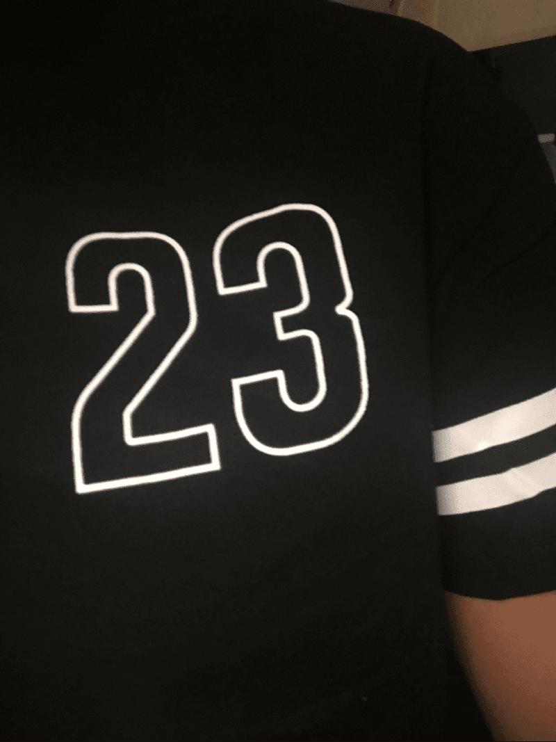 970875cbe3 Crop Varsity T-shirt And Contrast Binding Notch Shorts Set – Malibu ...
