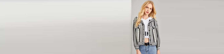 Outerwear Spanish De Shein sheinside Mujer rarqwA